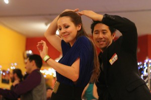 Dancing at Blues Winter Ball 2014