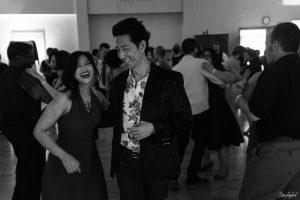 John Vigil dancing Blues with Jeannie at Blues Geek